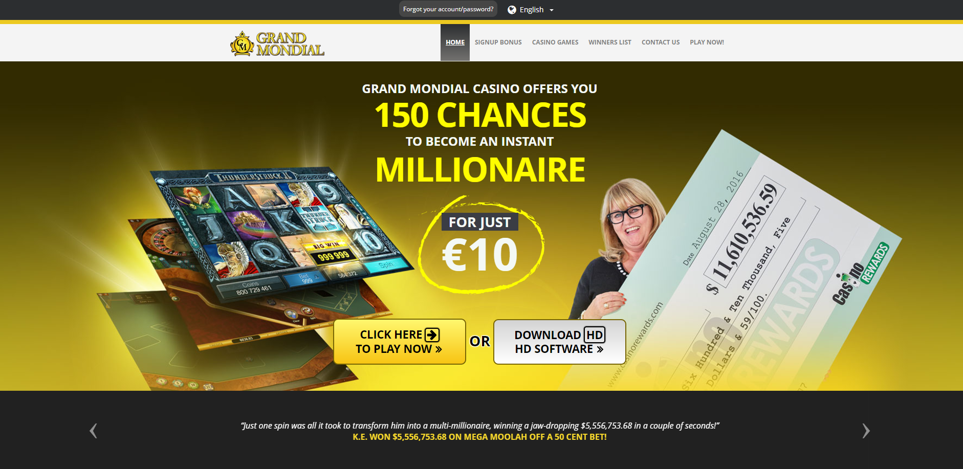 online casino small deposits